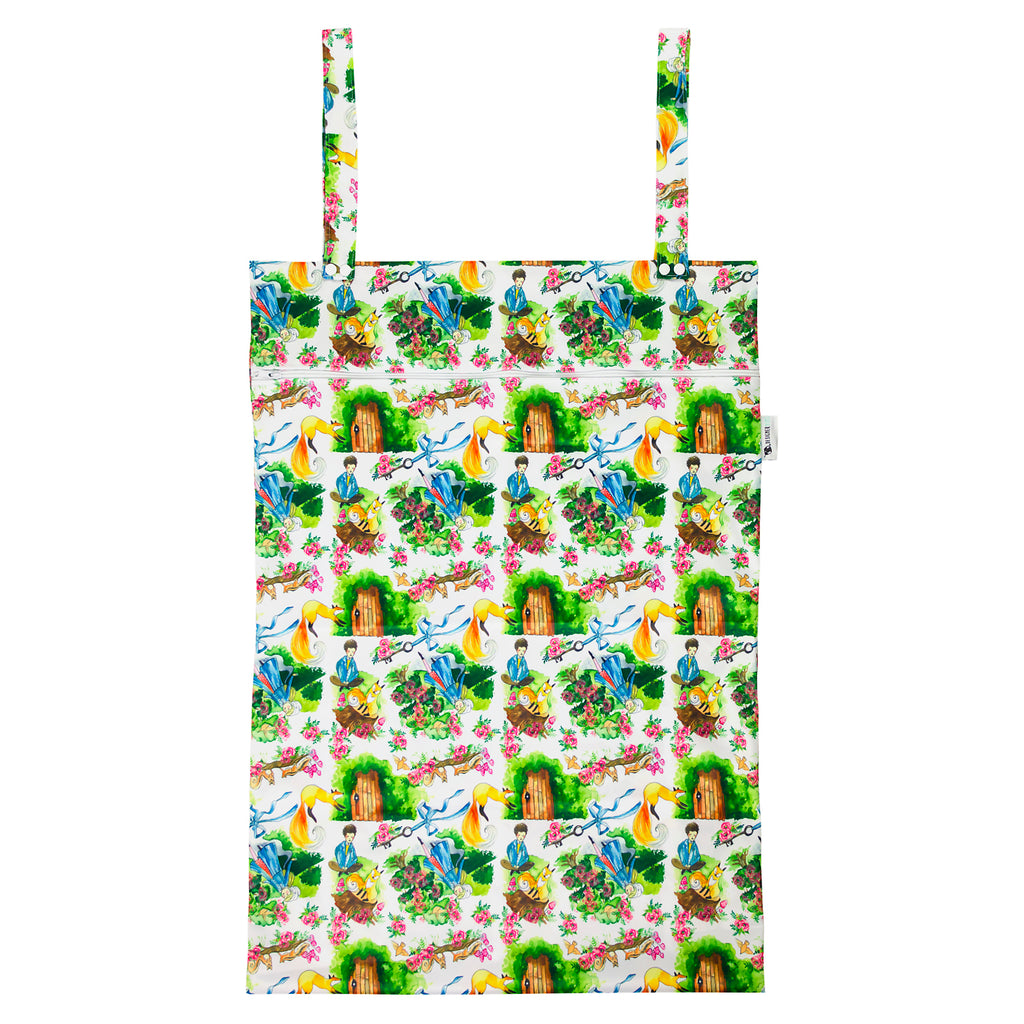Secret Garden XL Wet Bag Nappies Designer Bums