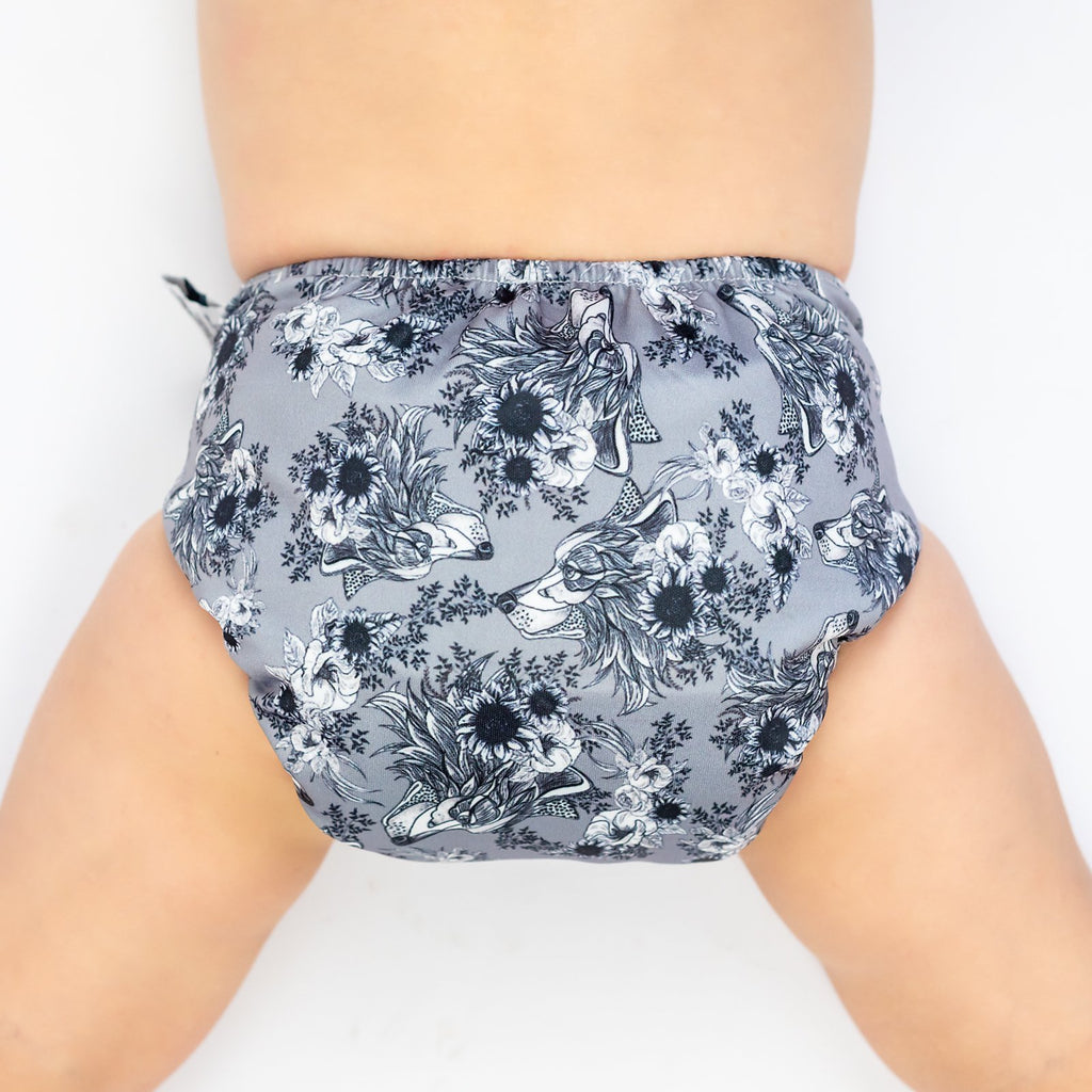 She Wolf Cloth Nappy Nappies Designer Bums