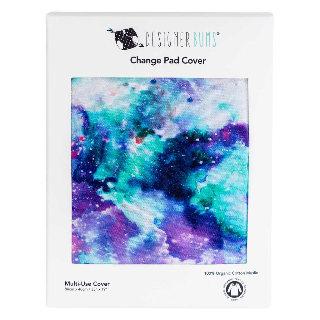 Silver Lining Change Pad Cover