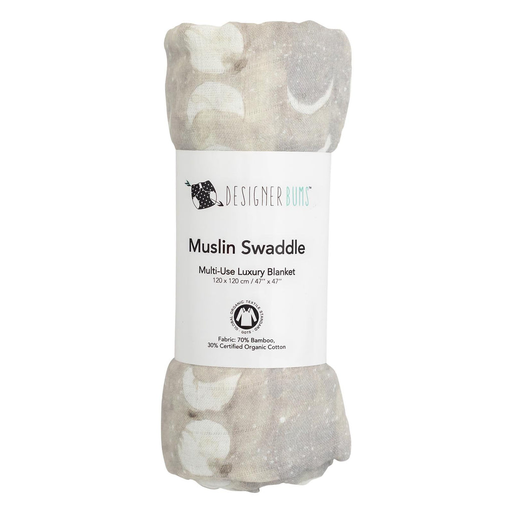 Silver Moon Swaddle