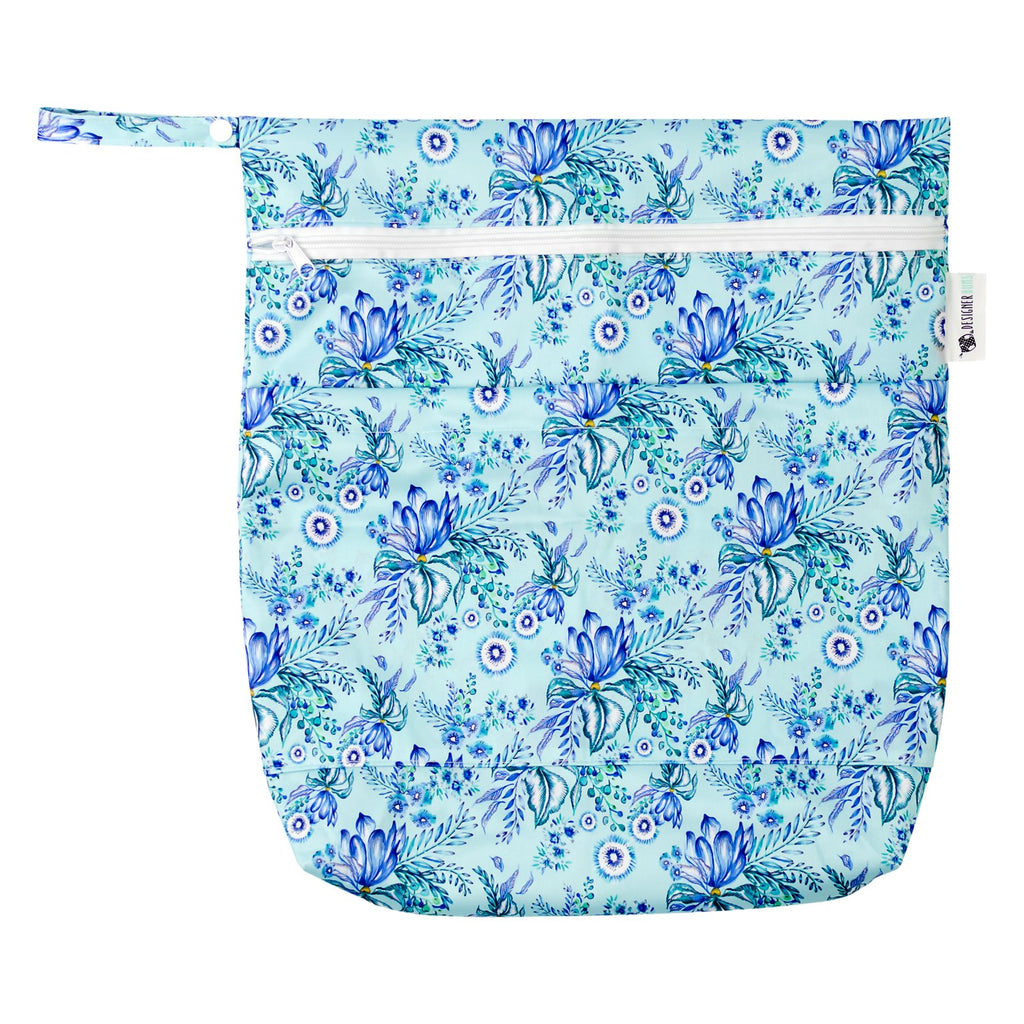 Spearmint Garden Wet Bag
