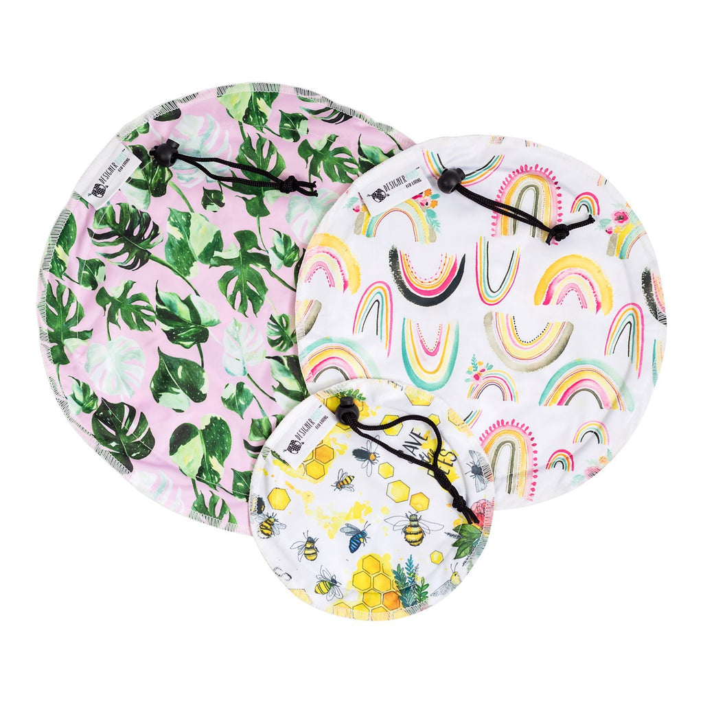 Bowl Cover Set Nappies Designer Bums