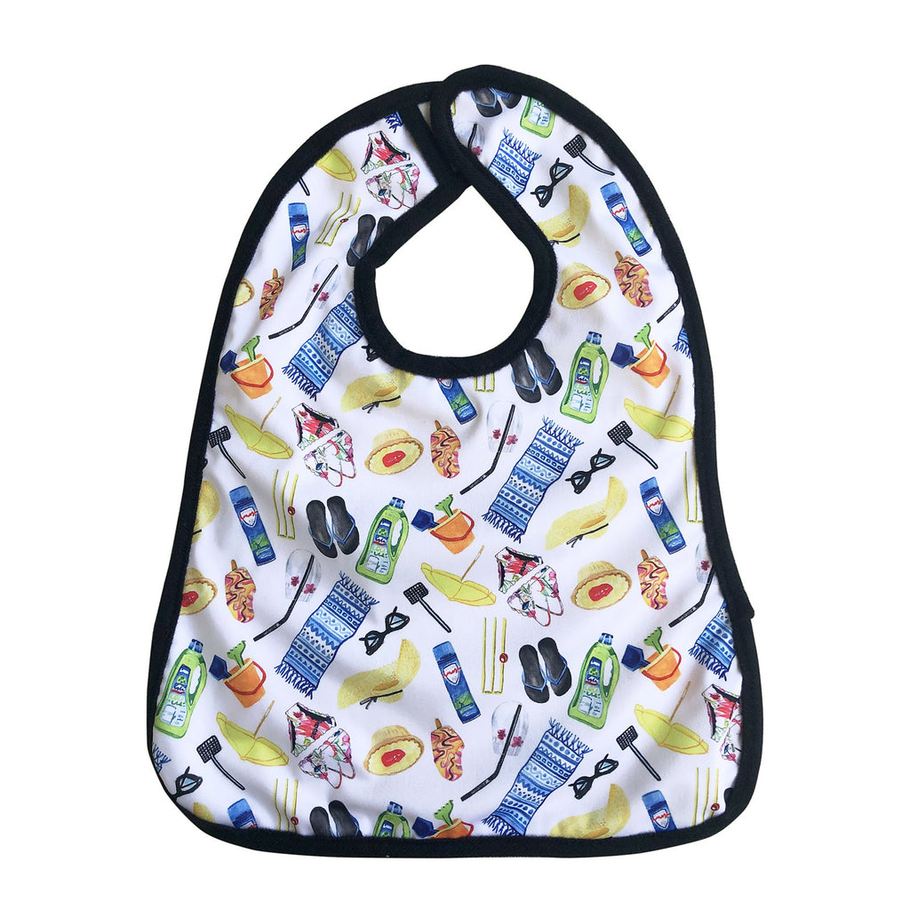 Summer Days Bib