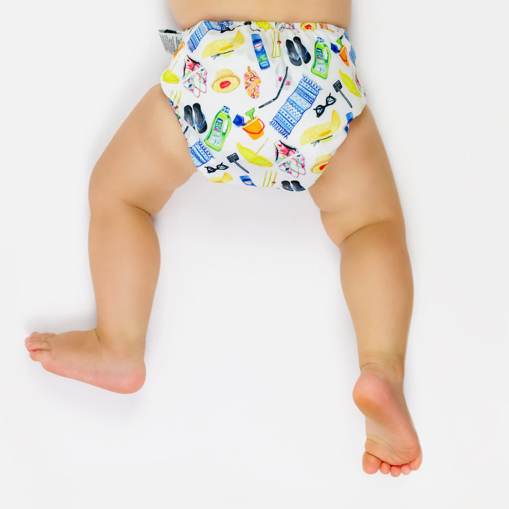 Summer Days Cloth Nappy Nappies Designer Bums