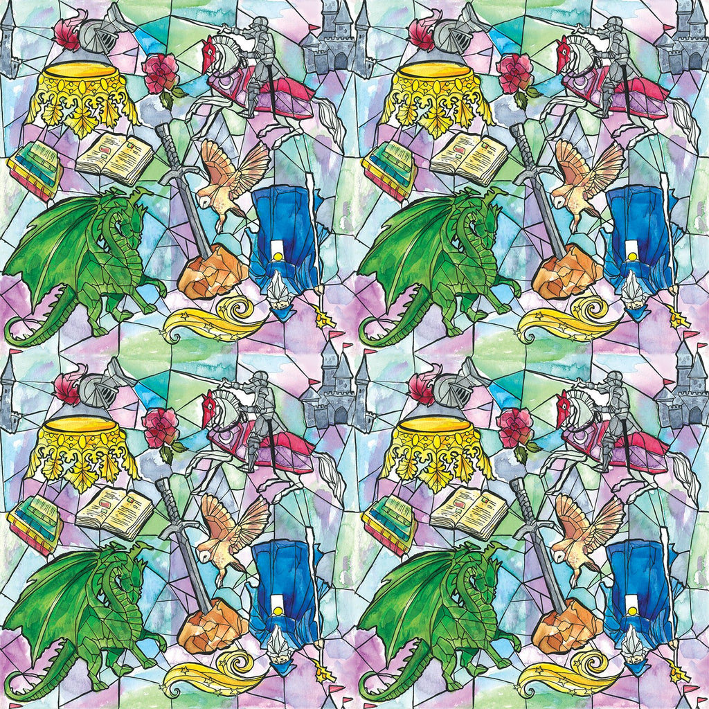 Sword in the Stone Change Mat Nappies Designer Bums