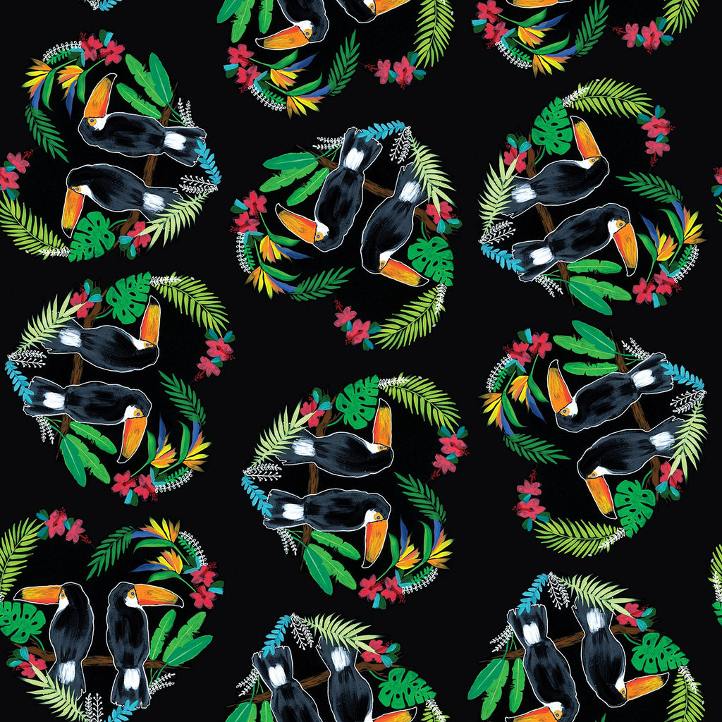 Toucan Totem Change Mat Nappies Designer Bums