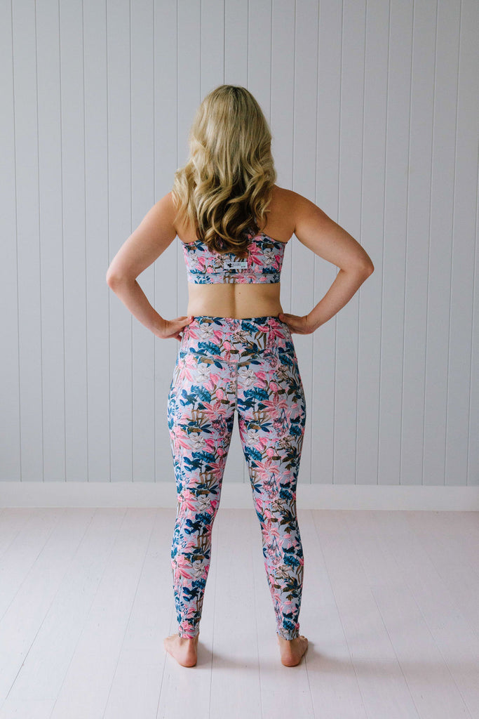 Urban Blooms Leggings Nappies Designer Bums