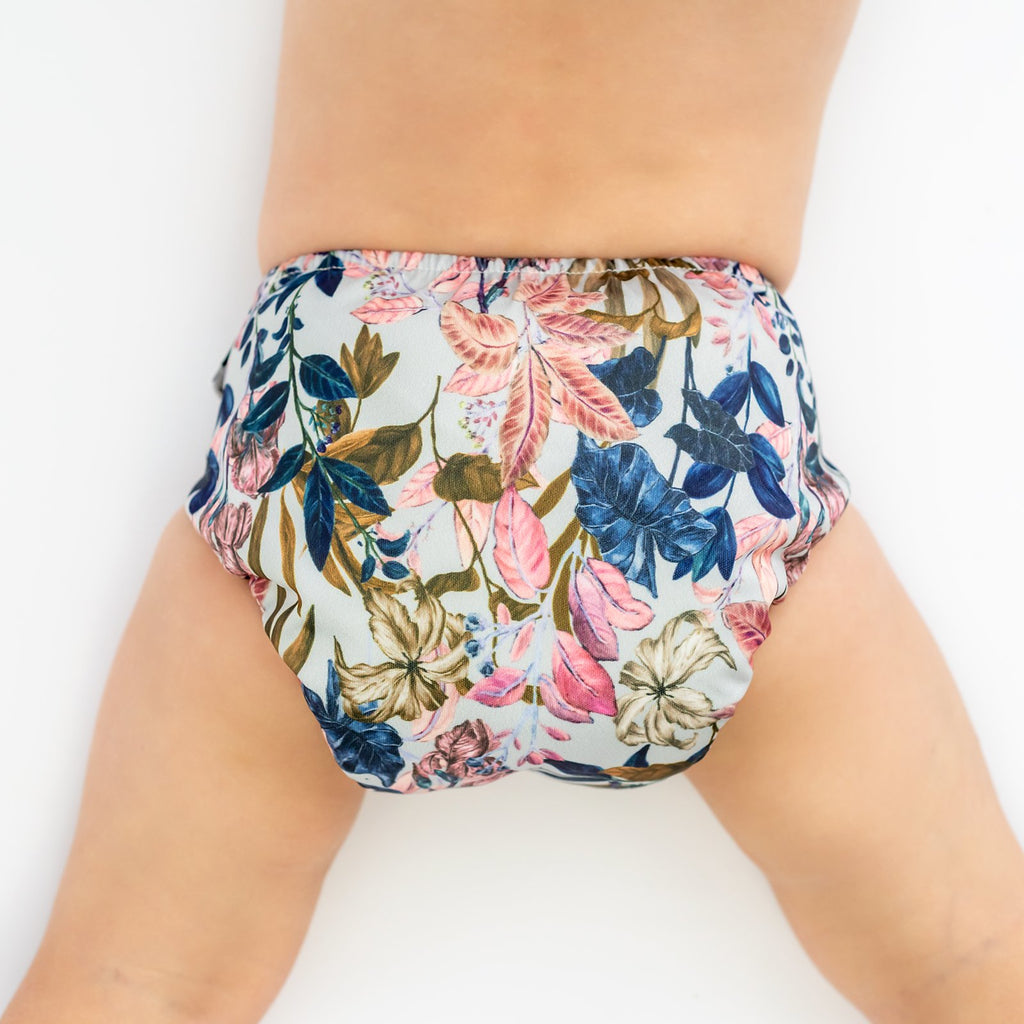 Urban Blooms Cloth Nappy Nappies Designer Bums