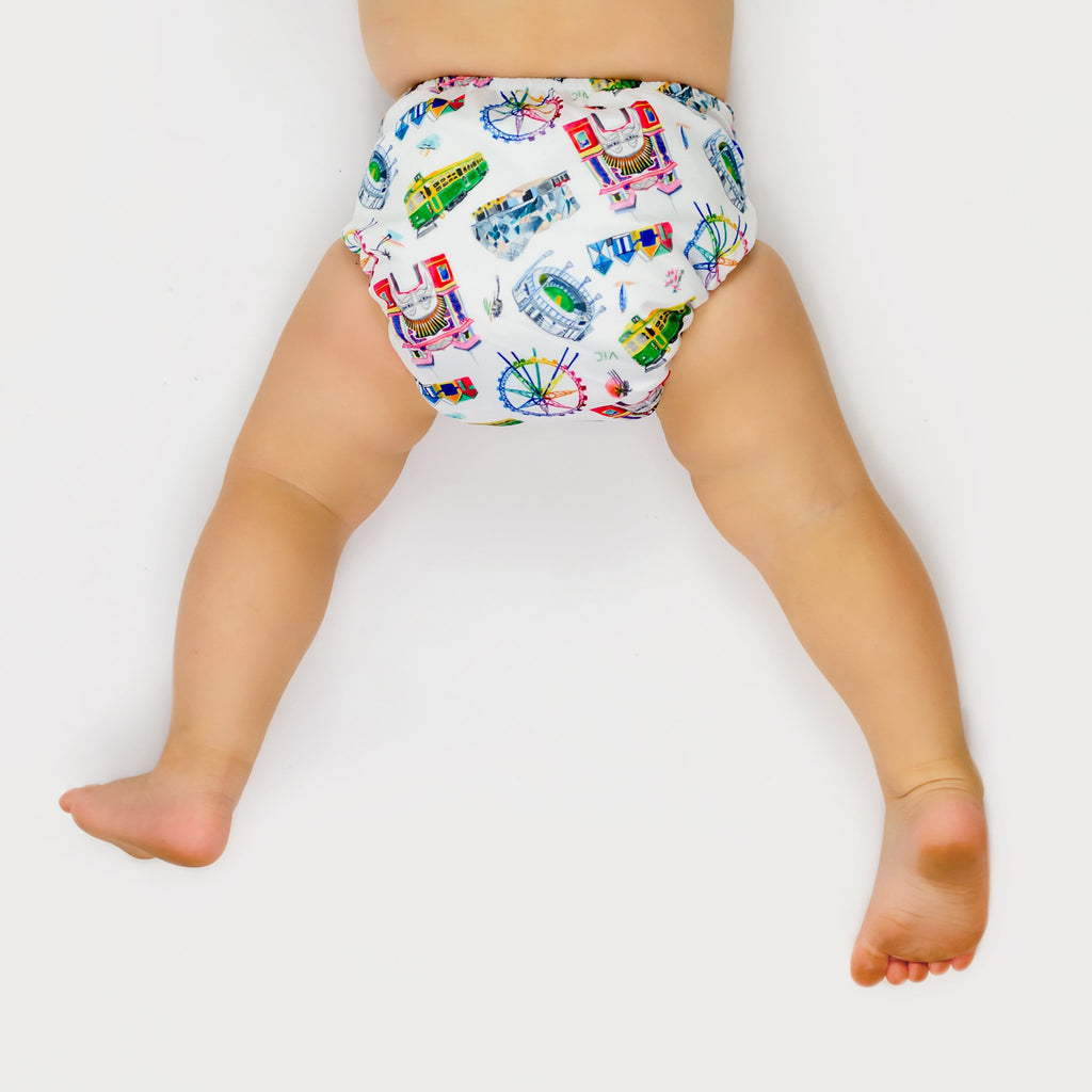 VIC Cloth Nappy Nappies Designer Bums