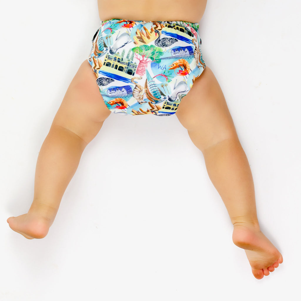 WA Nappies Designer Bums