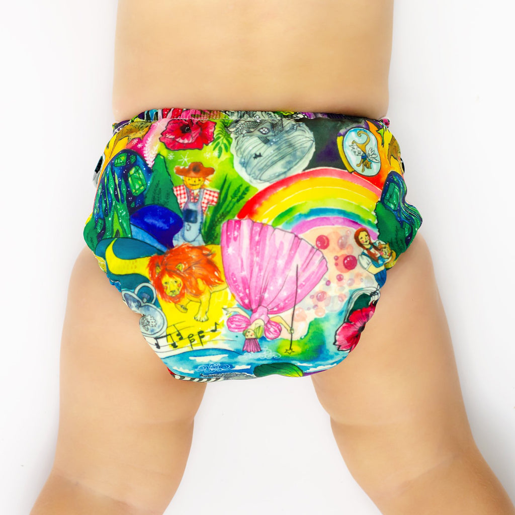 Wizard of Oz Cloth Nappy