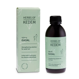 Gadal Solution - Step 1 In Hair Regrowth Treatment - 250ml