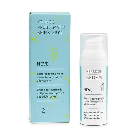 Neve - Purifying Cream for Acne Prone Skin -  50ml