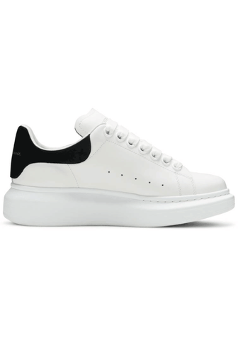 Alexander McQueen Oversized Trainers In White/Black
