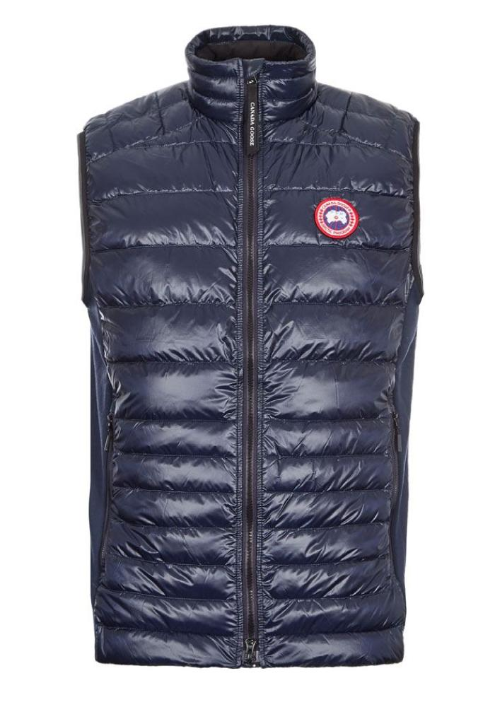 Canada Goose Hybridge Lite Quilted Gilet In Navy