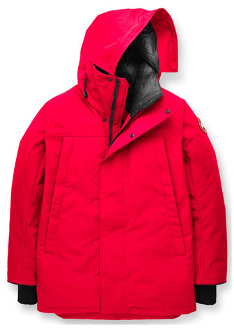 Canada Goose Sanford Parka Jacket In Red