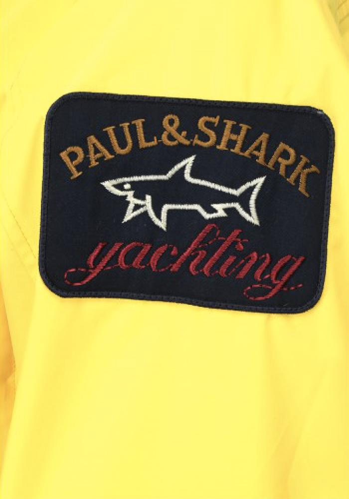 Paul & Shark Side Reflective Bands Jacket In Yellow