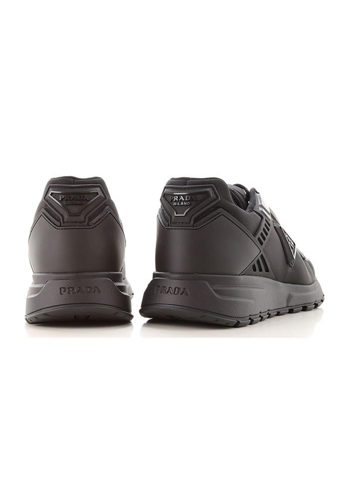 Prada Prax 01 Nylon Trainers In Black