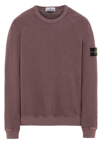 Stone Island T.CO+OLD Sweatshirt In Burgundy - 66060