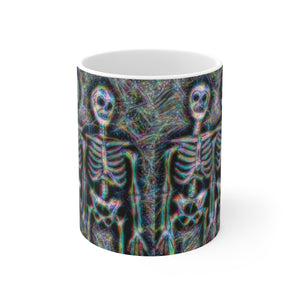 Skeletons Bone Crew Ceramic Mug - sasyjamdesigns