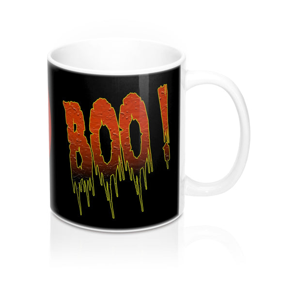 Pumpkin Boo Ceramic Mug - sasyjamdesigns