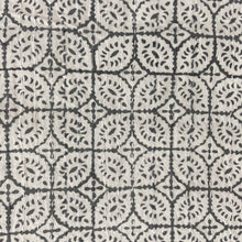 Load image into Gallery viewer, Hand Block Printed Kantha - Little Patti Grey