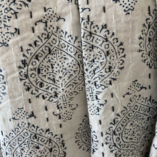 Load image into Gallery viewer, Hand Block Printed Kantha - Insignia Blue