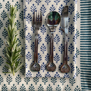 Hand Block Printed Table Runner, handcrafted in pure cotton. Fair trade, colourful, sustainable, eco-friendly and ethical for unique décor