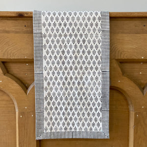 Hand Block Printed Napkins - Neem Grey - Set of 4