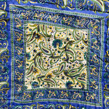 Load image into Gallery viewer, Hand Block Printed Quilt - Paisley Delight Blue