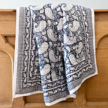 Load image into Gallery viewer, Hand Block Printed Quilt - Old Time Paisley