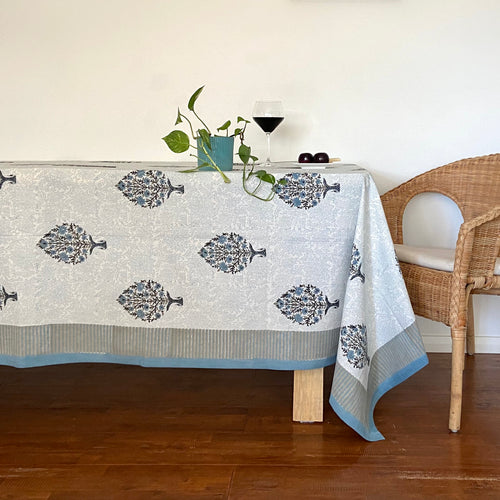 Hand Block Printed Table Cloth - Passion Boota