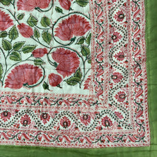 Load image into Gallery viewer, Hand Block Printed Quilt - Kamal Gulabi