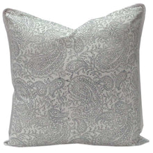 Load image into Gallery viewer, Hand Block Printed Cushion Cover - Old Time Paisley