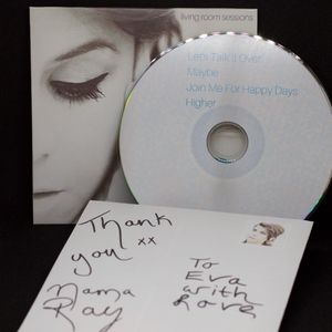 Autographed & Personalised CD Bundle