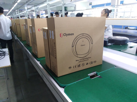 Clymen products ready to be shipped