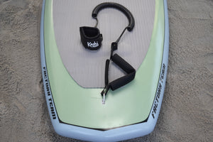 Kāohi GRIP Surfing Leash - Coil