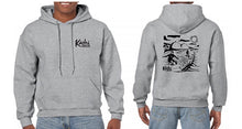 Load image into Gallery viewer, Kāohi Grip Leash™ San Onofre Foiling Sweatshirt