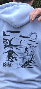 Kāohi Grip Leash™ San Onofre Foiling Sweatshirt