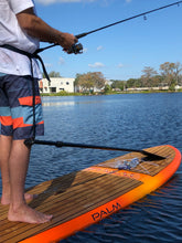 Load image into Gallery viewer, paddle belt sup fishing surfing paddle leash