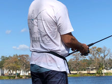 Load image into Gallery viewer, Paddle Board SUP Fishing / Paddle Belt T-Shirt