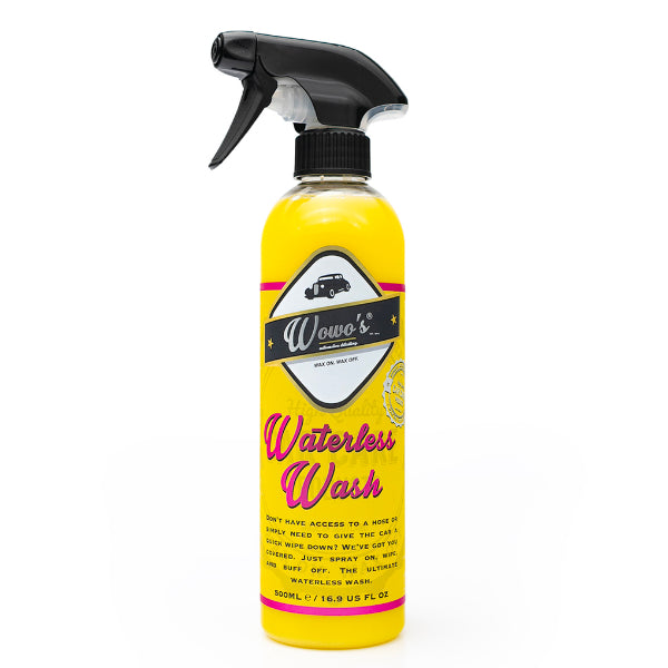 wowo's waterless wash