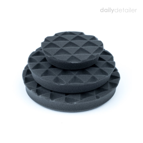 "SHINE MATE - BLACK DIAMOND LIGHT FINISHING PAD (4""/6"") - Daily Detailer"