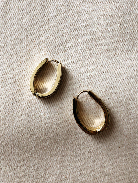 CLIP EARRINGS VEIA GOLD EVERYDAY STYLE
