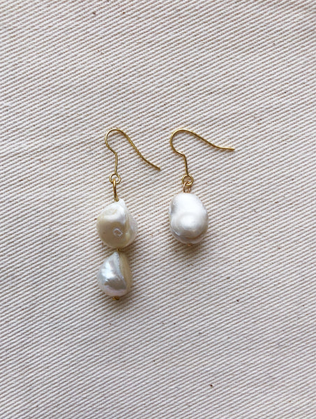 MIXED PEARL EARRINGS - VEIA EVERYDAY STYLE