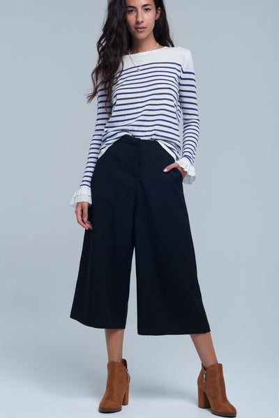 Culotte in black