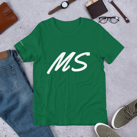 "Marquis Sinclair ""MS"" Short-Sleeve Unisex T-Shirt"