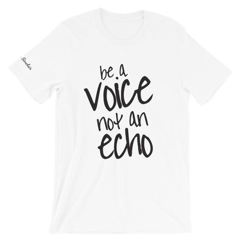 "Marquis Sinclair ""Be a Voice"" Short-Sleeve Unisex T-Shirt"