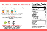 ACEROLA CHERRY POWDER 100g : boosts digestion and the immune system