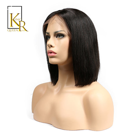 Straight Brazilian Remy Hair Wigs Human Hair Natural Wig